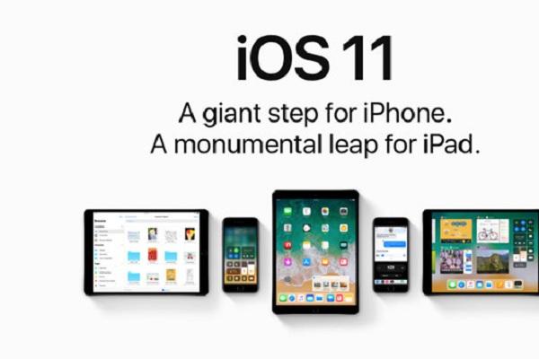Công nghệ mới của ios11 chính thức được áp dụng trên các dòng điện thoại iPhone từ 5s