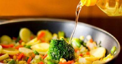 Nấu nướng bằng dầu thực vật gây hại gì?