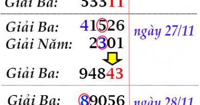 Nhận định xổ số miền bắc chính xác ngày 29/11