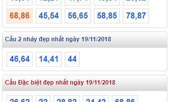 Cầu lô miền bắc chính xác ngày 19/11 tỷ lệ trúng cao nhất