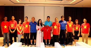 TIN BÓNG ĐÁ VIỆT NAM 19/10: Đại sứ quán Việt Nam tại Myanmar thăm và động viên ĐT Việt Nam