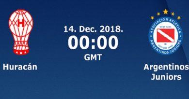 Nhận định Huracan vs Argentinos Juniors, 07h00 ngày 14/12/2018: VĐQG Argentina