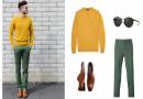 Cách phối màu quần áo cho các quý ông thời thượng