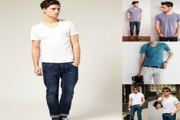 cách phối đồ nam với quần jean