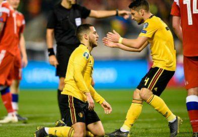 Bỉ giành chiến thắng 3-1 trước Nga với cú đúp của Hazard