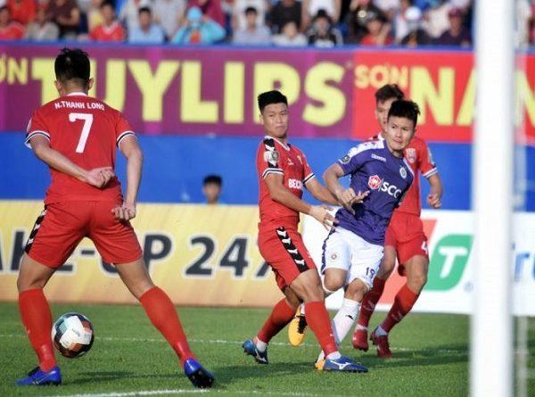 Trận cầu đinh HAGL vs Hà Nội FC