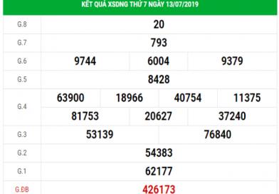 Soi cầu VIP kết quả XSDNG hôm nay ngày 17/07/2019