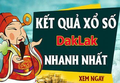 Soi cầu XS Daklak chính xác thứ 3 ngày 20/08/2019
