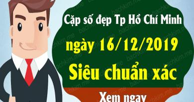 Soi cầu lô tô đẹp kqxshcm ngày 16/12