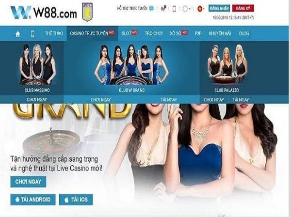 Game bài trực tuyến W88 – Casino online Hot nhất Châu Á 2020