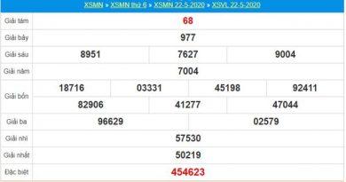 Soi cầu KQXS Vĩnh Long 29/5/2020 nhanh và chuẩn nhất