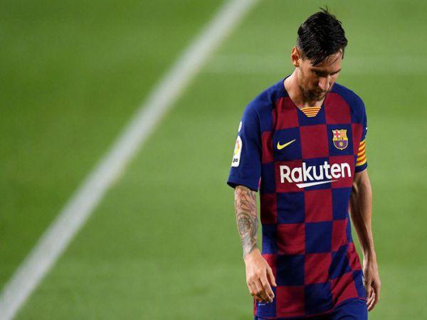 Messi nổi giận Đá thế này, Barca đừng mơ C1