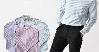 Chọn áo sơ mi nam cho người béo khéo léo che khuyết điểm tối đa