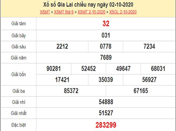 Nhận định XSGL 9/10/2020
