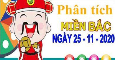 Phân tích XSMB ngày 25/11/2020 – Phân tích KQXS Bắc Ninh thứ 4