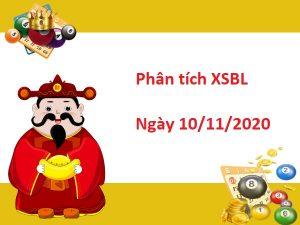 Phân tích XSBL 10/11/2020