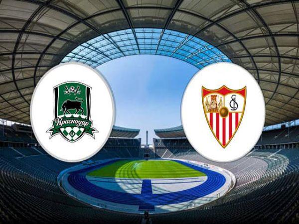 Soi kèo Krasnodar vs Sevilla, 00h55 ngày 25/11 - Cup C1 Châu Âu