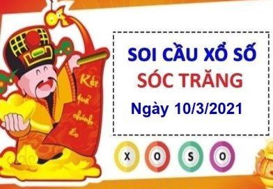 Soi cầu XSST ngày 10/3/2021 – Soi cầu bạch thủ xổ số Sóc Trăng