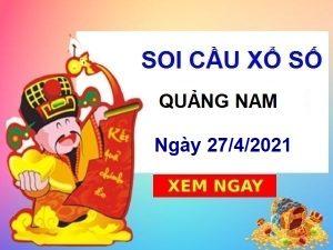 Soi cầu XSQNM ngày 27/4/2021