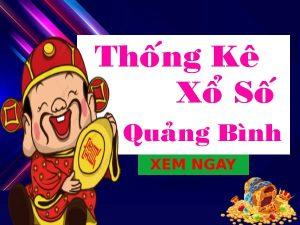 Thống kê xổ số Quảng Bình 29/4/2021