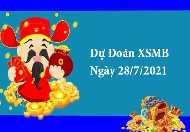Dự Đoán XSMB 28/7/2021 – Soi Cầu KQXSMB thứ 4
