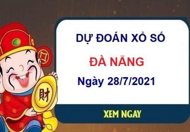 Dự đoán XSDNG ngày 28/7/2021 chốt lô số đẹp đài Đà Nẵng
