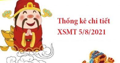 Thống kê chi tiết XSMT 5/8/2021