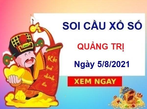Soi cầu XSQT ngày 5/8/2021