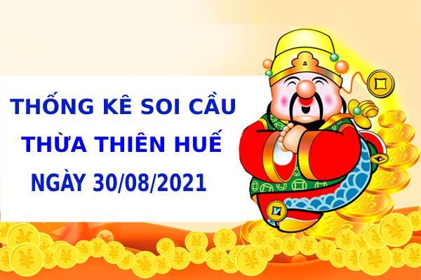 Thống kê soi cầu xổ số Phú Yên ngày 30/8/2021 hôm nay