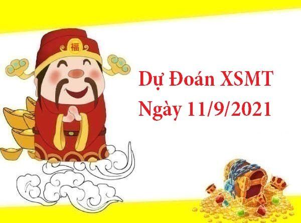 Dự Đoán XSMT 11/9/2021