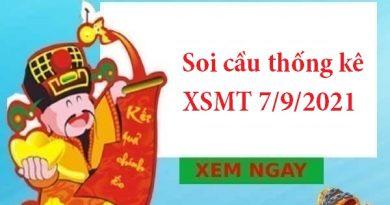 Soi cầu thống kê XSMT 7/9/2021