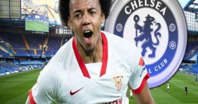 Tin thể thao tối 1/9: Chelsea đàm phán lần cuối với Sevilla