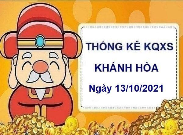 thống kê xổ số Khánh Hòa ngày 13/10/2021